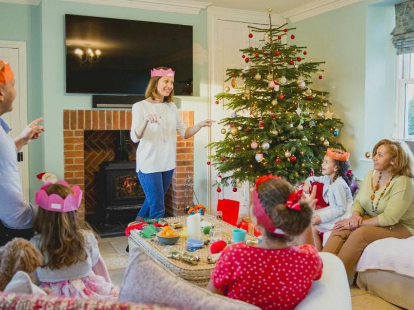 Enjoyable Family Christmas Games